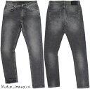 Nudie Jeans co/ヌーディージーンズ LEAN DEAN/リーンディーン GREY HUNT(グレーハント) 11.75 oz. comfort stretch denimストレッチ・…