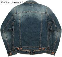 """LEVI'Sのサードをモチーフにしたスタイリッシュモデル★NudieJeans""""味だし""""デニムジャケット。NudieJeansco,ヌーディージーンズ,BILLY,ビリー,BLUEFRIENDDENIM,ブルーフレンドデニム,デニムジャケット,ジージャン,Gジャン"""