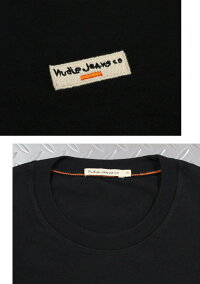 ヨーロピアンテイストの効いた雰囲気が◎雰囲気抜群のヌーディーのワンポイントTシャツ★NudieJeansco,ヌーディージーンズ,DANIEL,LOGOTEE,ワンポイント刺繍ロゴ入り、半袖Tシャツ,ワンポイントTEE,