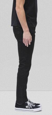 綺麗なテーパードラインが特徴★GRIMTIM/グリムティムのブラックジーンズ,NudieJeansco,ヌーディージーンズ,GRIMTIM,グリムティム,DRYEVERBLACK,ドライエバーブラック,12oz.comfortstretchdenim,ストレッチ・ブラックデニム,ブラックジーンズ