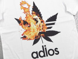 NOCOMMENTPARIS,ノーコメントパリ,BURNINGHEMP/T-SHIRT,半袖プリントTシャツ,カットソー,WHITE(ホワイト)