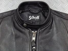 Schott,ショット,70'sSINGLERIDERS,シングルライダースジャケット,カフェレーサージャケット,レザージャケット,BLACK(ブラック),3111052