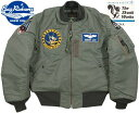 "BUZZ RICKSON'S/バズリクソンズ Jacket,Flying,Intermediate Type MA-1""LION UNIFORM INC.""1st STARTEGIC RECON. SQ. LOCKHEED MARTI…"