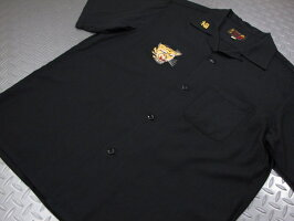 """本物のスカシャツをお探しなら、迷わずコレ!TAILORTOYO,テーラートーヨー,S/SVIET-NAMSHIRT""""QUINHON"""",半袖ベトシャツ,ベトナムシャツ,BLACK(ブラック),TT37602"""