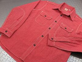 SUGARCANE,シュガーケーン,JEANCORDL/SWORKSHIRT,ジーンコードストライプ、長袖ワークシャツ,SC25511