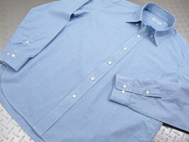 シンプルさとスマートさがウリ★プレッピーな雰囲気が魅力の千鳥格子ボタンダウンシャツ♪SUGARCANELight,シュガーケーンライト,HOUNDTOOTHL/SB.DSHIRT,ハウンドトゥース、ボタンダウンシャツ,千鳥格子ボタンダウンシャツ,SC28168,BLUE(ブルー)