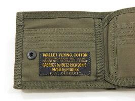 BUZZRICKSON'S×PORTER,バズリクソンズ×ポーター,JUNGLECLOTHWALLET,バズリクソンズ×ポーター、ダブルネームコラボレーション・ウォレット,折り財布,BR02658