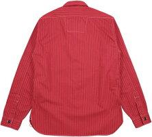 SUGARCANE,シュガーケーン,FICTIONROMANCE,8.5oz.REDWABASHSTRIPEWORKSHIRT,フィクションロマンス・8.5オンス・レッドウォバッシュストライプワークシャツ,A/RED(レッド),SC28340
