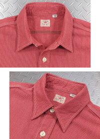 SUGARCANE,シュガーケーン,JEANCORDS/SWORKSHIRT,ジーンコードストライプ、半袖ワークシャツ,SC38459