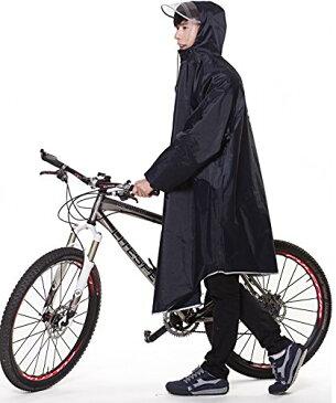 【2020年最新版】QIAN レインコート 自転車 メンズ レディース 雨具 レインポンチョ ポンチョ 通学通勤 軽量 完全防水 防汚 防風 男