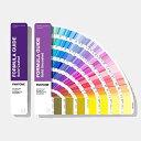 ◆商品名:PANTONE PLUS 色見本 パントン GP1601A フォーミュラガイド/2冊組(コート紙、上質紙) 【全2161色】『パントン正規品、シリアル番号あり』 [並行輸入品] 前回のGP1601Nから新色294色を含む2161色を収録した新カバーデザインの最新版で、コンパクトで扇形に開いてみることのできるコート紙版、上質紙版のガイド2冊組です。 新色294色には需要の多いブラック、グレー、ベージュ、タン、ブルー、オリーブのニュートラルで微妙な色合いが含まれています。グラフィックデザインはもとより、パッケージ、プロダクト等のデザインにおいても使える、多用途でクリエイティブな色の選択肢を提供します。