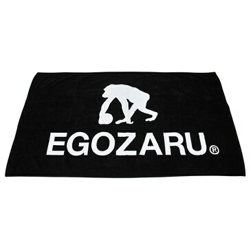 EGOZARU エゴザルBENCH TOWEL BLACK TOWEL タオルベンチタオル ビッグタオル BIG TOWEL(BLACK/ブラック)【EZAC-1705】※在庫取商品のため、在庫がない場合もございます。