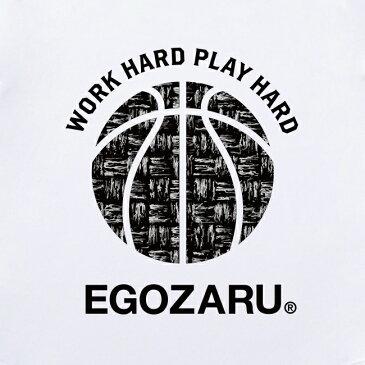 [2色展開]エゴザル EGOZARUBASKETCHECK BALL ロングTシャツロンT 長袖【EZLT-1802】