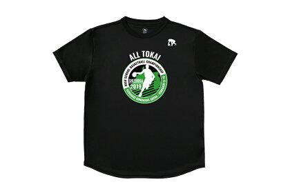 [2色展開]エゴザルEGOZARU第32回東海高等学校男女新人バスケットボール大会記念Tシャツ【EZST-TOKAI】【返品・交換不可】