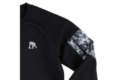 【2色展開】エゴザルEGOZARUバスケ長袖POCKETDIGICAMOスウェットシャツ【EZSW-1903】