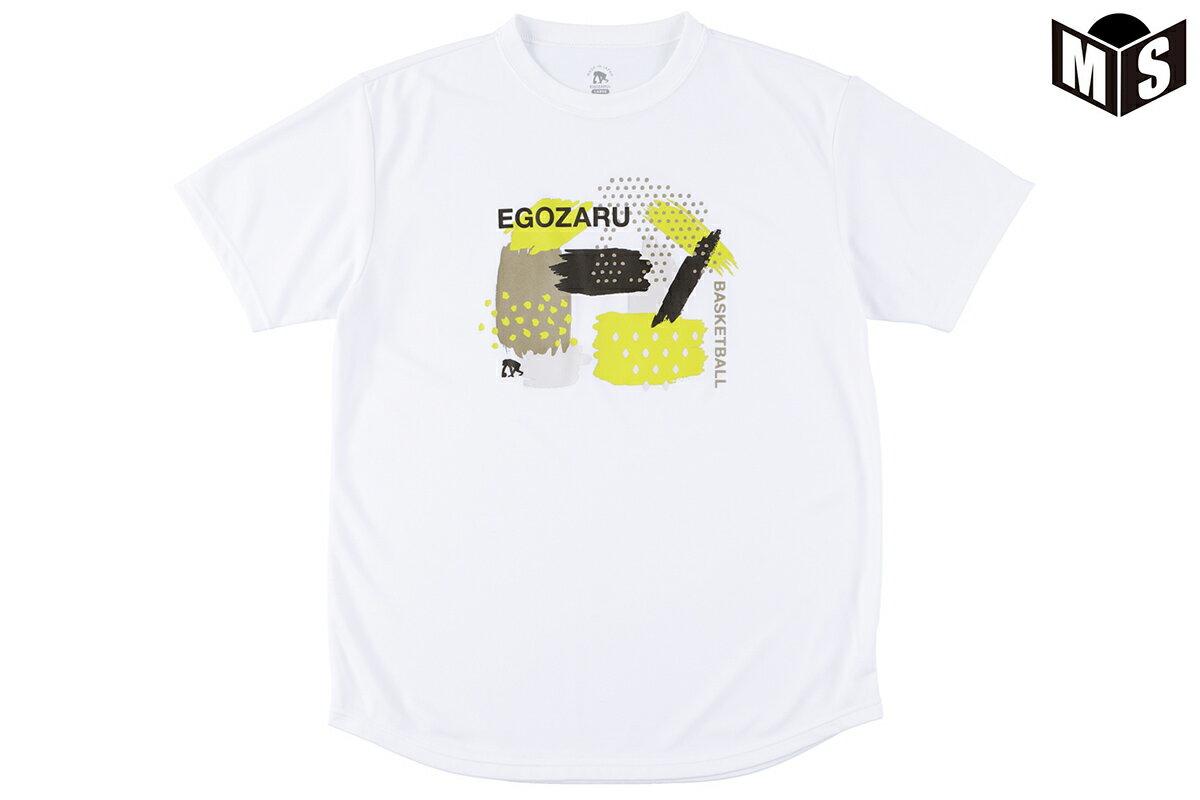 2020春夏モデル【2色展開】エゴザル EGOZARU バスケ tシャツ GRAPHIC GOUACHE Tシャツ【EZST-2006】