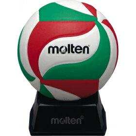 【12月下旬入荷予定】moltenモルテンサインボール1号バレーボールV1M500(白・緑・赤)