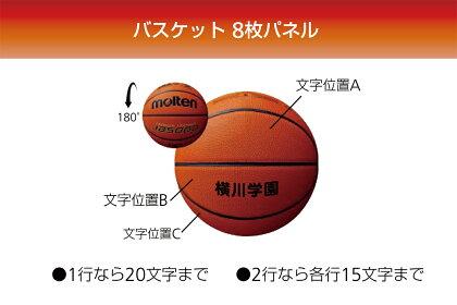 [追加料金なしでネーム加工可能!!]モルテンmoltenバスケットボール6号球検定球天然皮革【B6C4800】