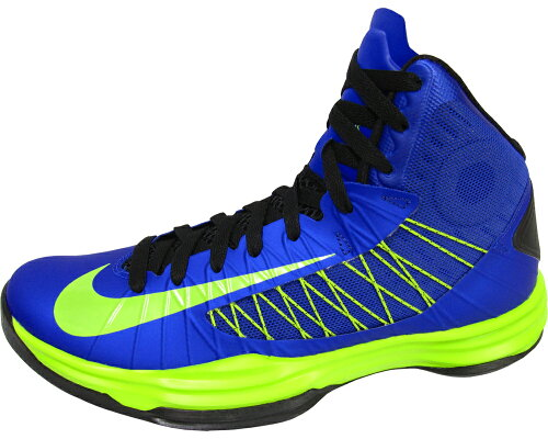[524934-402]ナイキ ハイパーダンク NIKE HYPERDUNK 524934-402(GAME ROYAL/ATOMIC GREEN-BLK)【...