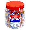 黄金糖(おうごんとう)飴 100個入り(ポット容器入り)