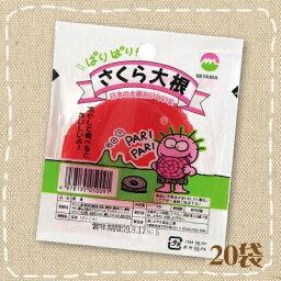 【特価】さくら大根 20袋 遠藤商店【駄菓子】関東の駄菓子