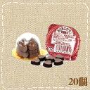 【特価】ミニミニハートチョコ 20個入り1BOX 高岡食品工業【駄菓子】【夏季クール便配送(別途216円〜)】