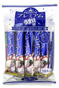 【駄菓子】プレミアムうまい棒 モッツァレラチーズ味&カマンベールチーズ味 10本入【卸価格】T…
