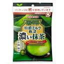特濃ミルク8.2 濃い抹茶 袋キャンデー 75g×6袋 UHA味覚糖 その1