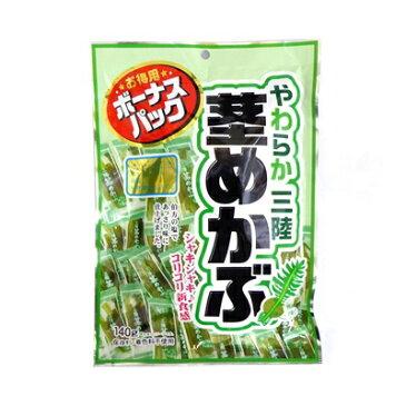 【卸価格】やわらか三陸茎めかぶ ボーナスパック 140g 徳用袋【壮関】健康志向 食物繊維いっぱい