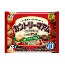 【不二家】カントリーマアム 20枚入り×1袋 ファミリーサイズ(バニラ&ココア)チョコチップクッキー