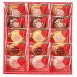 【卸販売】ギフト中山製菓苺のロシアケーキ15個入×1箱
