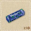 ブルーベリーの華やかな香りと爽やかな甘さ【特価】ブルーベリー ガム 15本入り1BOX ロッテ(LO...