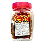 味あたりめ よっちゃん けんこうKAMU KAMU(けんこうカムカム)味あたりめバージョン280g×1ポット「西日本工場」【駄菓子】