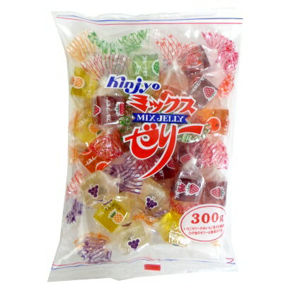 【卸価格】ミックスゼリー 300g×200袋 金城製菓 寒天フルーツゼリー 代引き不可