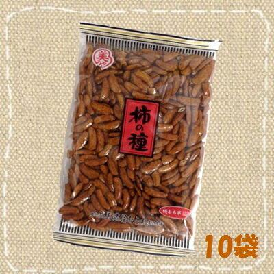 【特価】横浜美濃屋あられ お徳用 柿の種100% 195g×10袋【卸価格】
