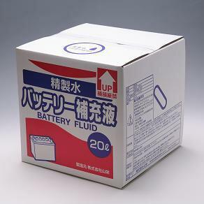 バッテリー補充液 20L コック付き 10箱まとめ買い TSP-02