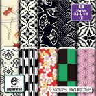 2wayストレッチ生地布日本ジャパニーズ文様小紋和風和柄模様