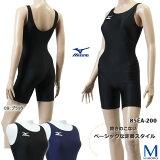 女性ベーシックフィットネス水著◇オールインワン◇mizuno(ミズノ) 85EA-200 レディース 水泳 プール