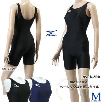 Woman basic fitness swimsuit ◇ all-in-one ◇ mizuno (Mizuno) 85EA-200 Lady's