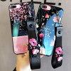 iPhoneケースiphone11iphoneXiPhone8Plus7スマホケーススマートフォン流砂ラメスパンコール花桜かわいい透明アイホンケース