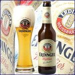 エルディンガー・ヴァイス・ビア・ヘーフェ(酵母入)330ml(瓶)×24本【送料無料】【02P10Dec12】
