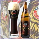 ドイツビールエルディンガーヴァイスビア「デュンケル」(黒ビール)500ml(瓶)×12本【送料無料】