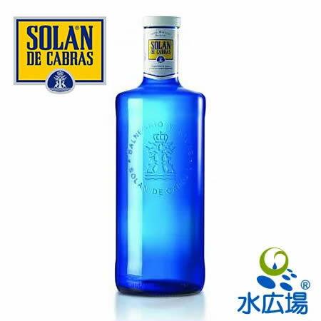 ソラン・デ・カブラス/Solan de Cabras 1L グラスボトル 6本入り 送料無料 無炭酸 スペイン産 中硬水 輸入者から直仕入