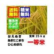 新米29年産 山形県産一等米  はえぬき ひとめぼれ あきたこまち 玄米 25kg 精米・送料無料 小分け・無洗米対応:30kg商品からかわりました
