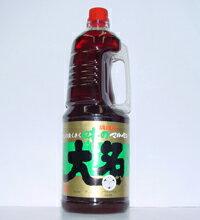 味の大名醤油うすくち1800ml