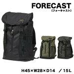 FORECAST(フォーキャスト)バックパックカラー3色
