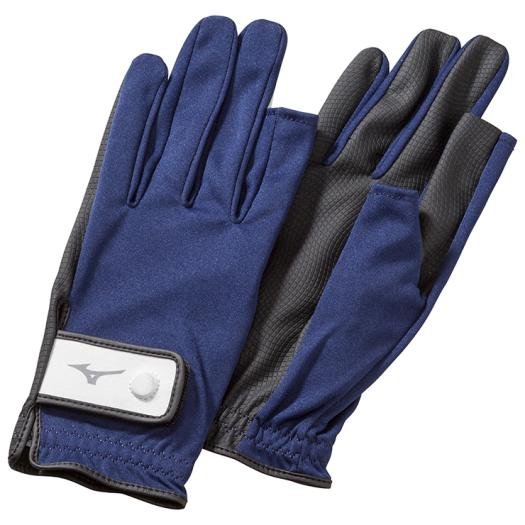 [ミズノ]手袋ニット指出しタイプ(両手)(グラウンド・ゴルフ)[ユニセックス]