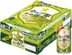 2ケースで送料無料!サッポロ ホップ畑の香り 350缶1ケース「24本入」