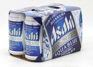 アサヒ 本生 アクアブルー350ML6缶パック