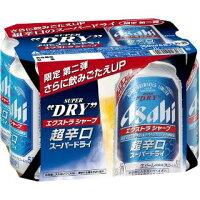 アサヒスーパードライ350缶6本パック